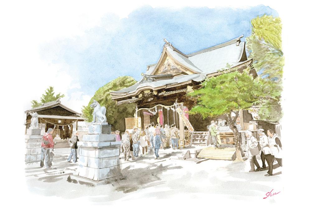 SANOMEDIA×さの百景 第19回 一瓶塚稲荷神社