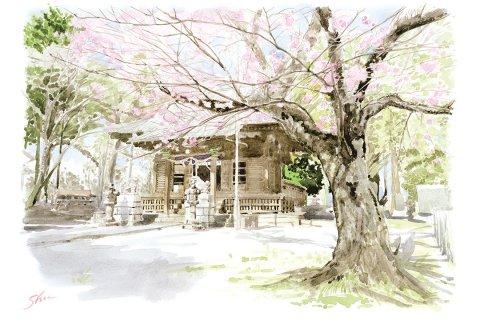 SANOMEDIA×さの百景 第22回人丸神社