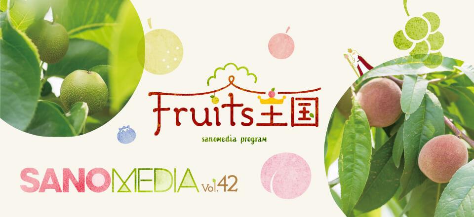 SANOMEDIA Vol.42 「フルーツ王国」