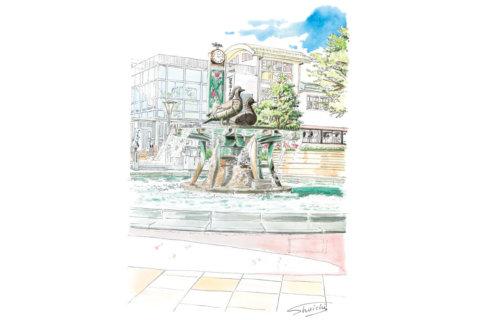 SANOMEDIA×さの百景 第24回佐野駅前広場 噴水