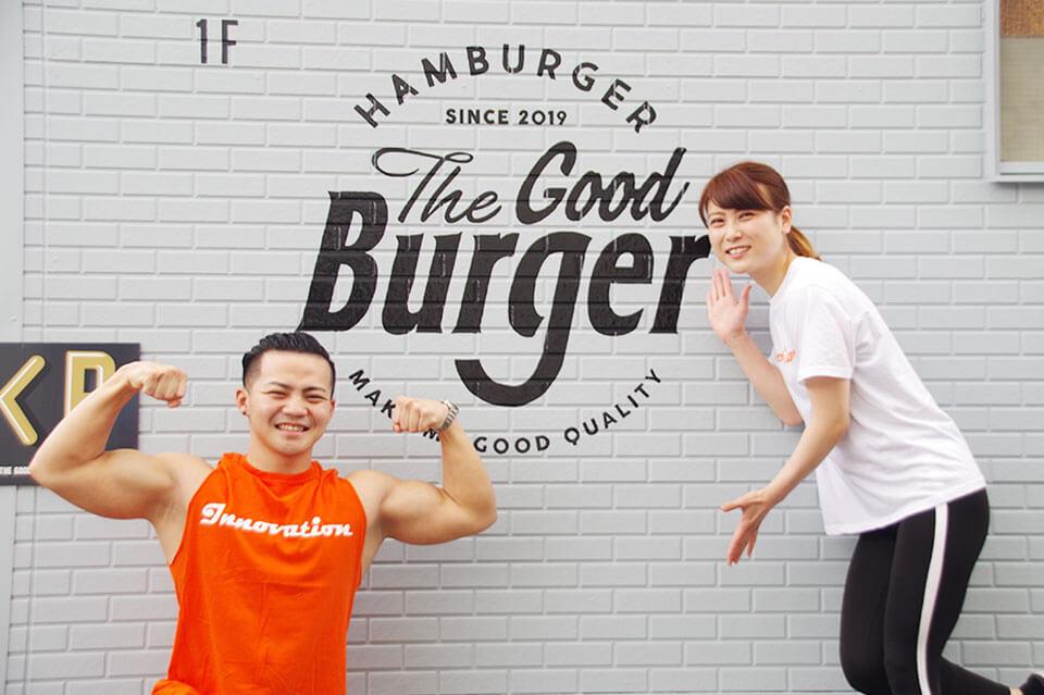 「マッチョ」×「ハンバーガー」最強の筋肉コラボ