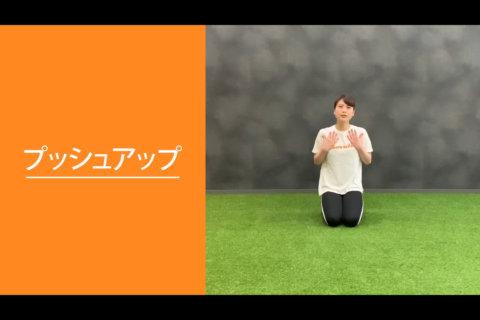 フィットネス動画vol.4「プッシュアップ」