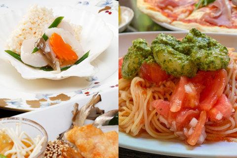 中華とイタリアンのコラボ企画「いい夫婦の日ディナー」