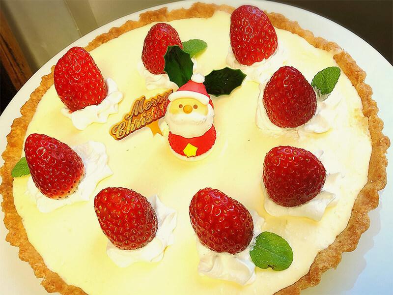 AJISAIのレアチーズケーキ