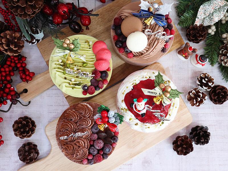 Gelateria Auguriのクリスマスアイスケーキ
