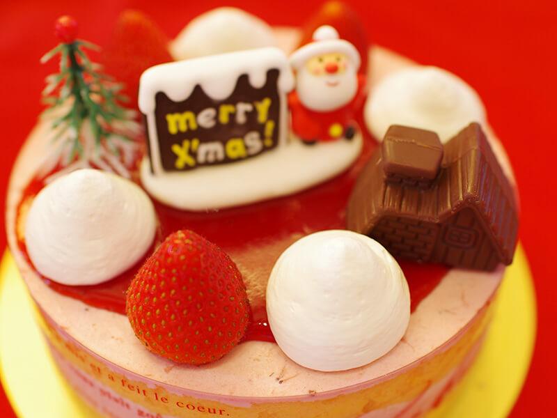 ケーキ工房 モンテの特製いちごクリームケーキ