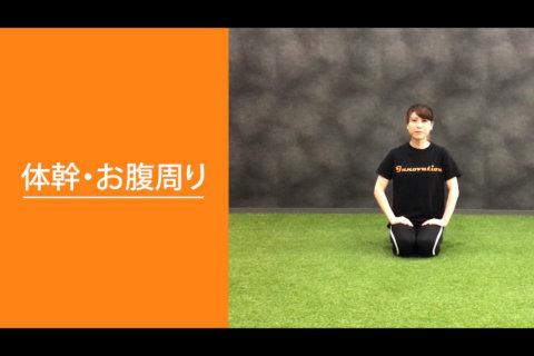 フィットネス動画vol.7「体幹・お腹周り」