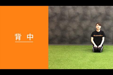 フィットネス動画vol.8「背中」