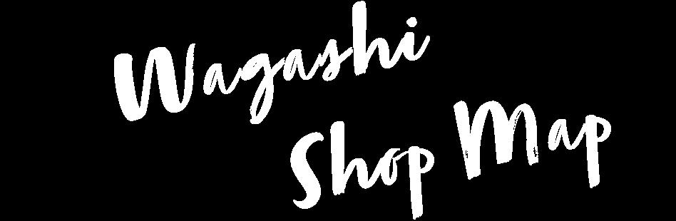 Wagashi Shop Map