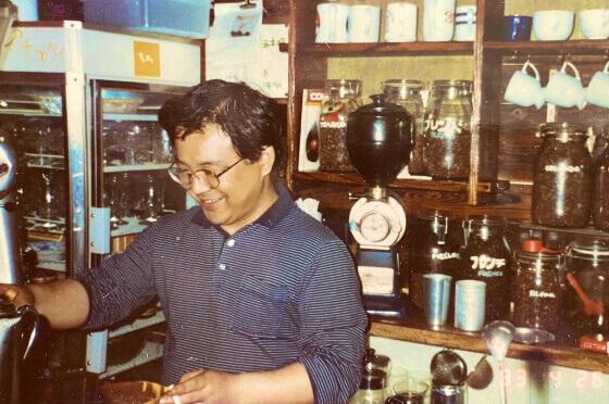 モカ直火焙煎コーヒー店