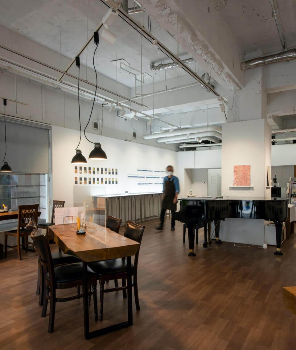 artspace & café 店内