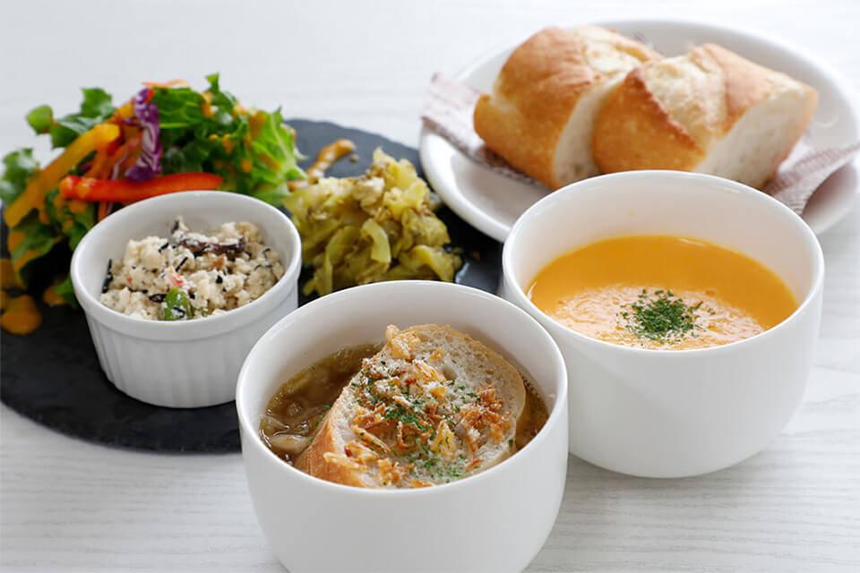 野菜ソムリエが作るスープとデリのお店〈mammy's soup(マミーズスープ)〉